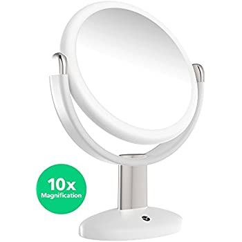 vanity mirror on stand. Vremi 10x Magnified Vanity Mirror  7 Inch Round Makeup Cosmetic for Bathroom or Bedroom Amazon com