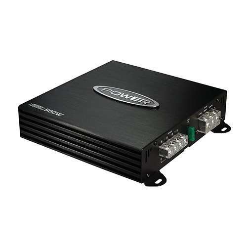 - Jensen Power 250x2 Dual Channel Car Amplifier with 500 Watt Peak Performance