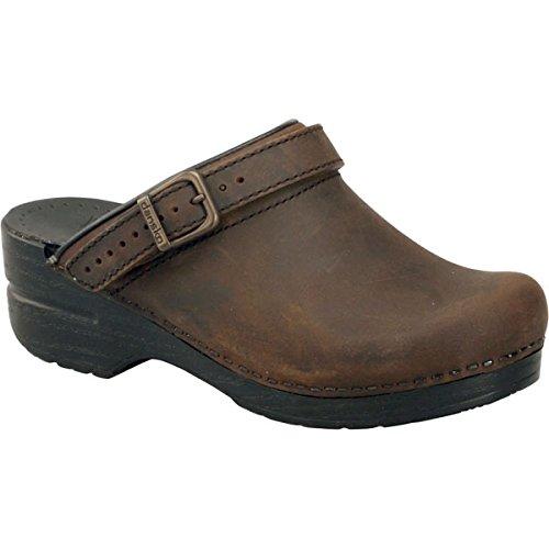 Dansko Women's INGRID Shoe, Antique Brown/Black, 39 Medium EU (8.5-9 US)
