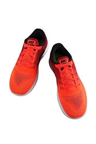 Nike Mens Free Rn Scarpa Da Corsa Total Crimson / Black / Gym Red / White Taglia 12,5 M Us