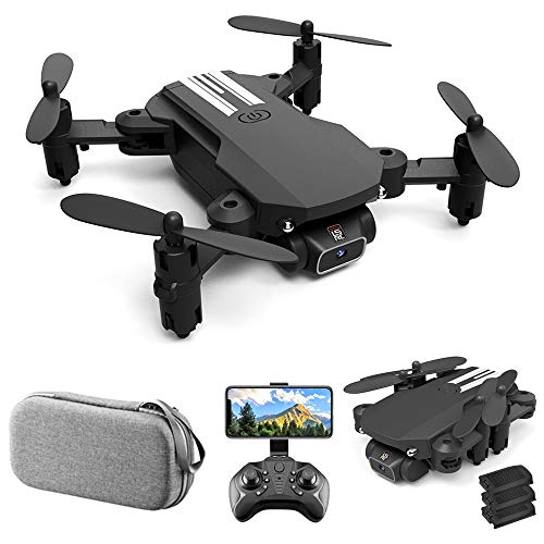 GoolRC Mini Drone for Kids and Adults, LS-MIN RC Quadcopter with 1080P Camera, 360° Flip, Gesture Photo/Video, Track…