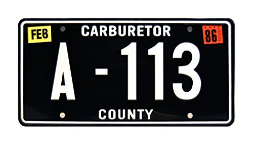 - Celebrity Machines Cars | Pixar | Tow Mater's | A-113 | Metal Stamped Vanity Prop License Plate