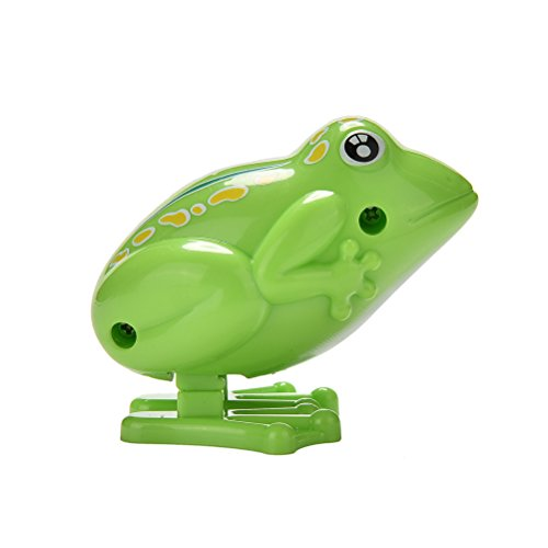 1 Pcs Fun-Filled Wind Up Mini Jumping Frogs Educational Clockwork Toys for Kids as Gift By IYSHOUGONG