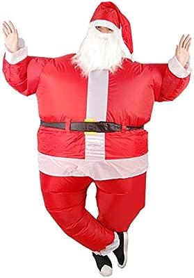 Tofree Santa Claus - Traje Hinchable con Ventilador de Barba ...