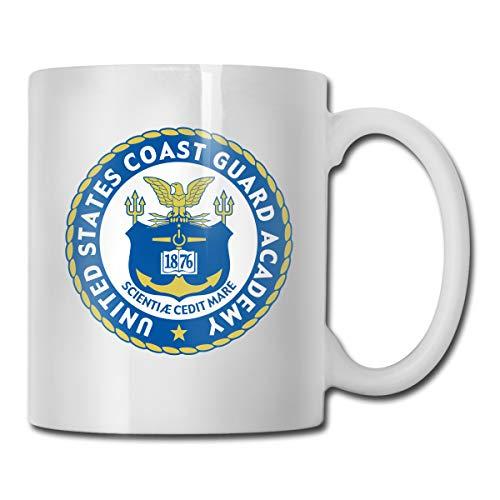 Guard Coast Mug (United States Coast Guard Academy Fashion Ceramic Mug Gift Mug Cup For Coffee & Tea Lovers, 11-Ounce)