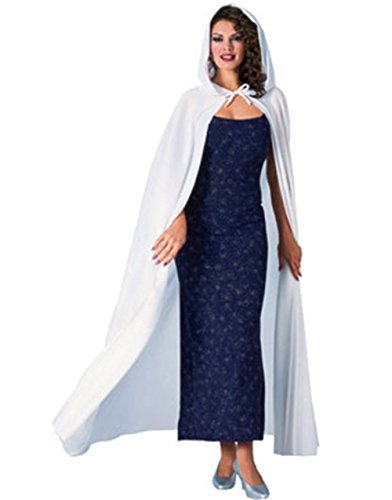 [Rubie's Costume Co Full Length Why Hood Cape Costume] (America Themed Costume Party)