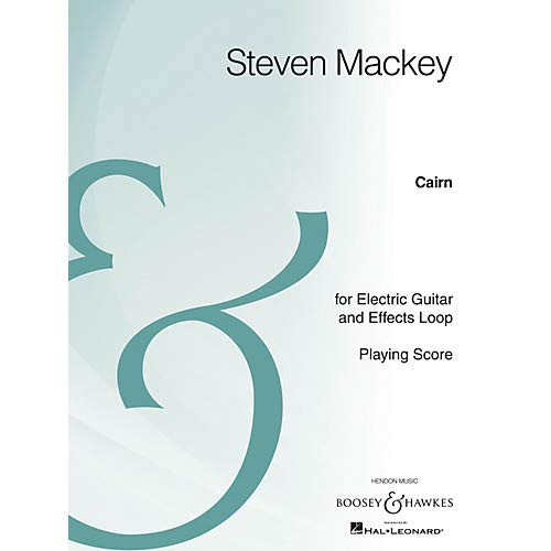 - Cairn (Electric Guitar and Effects Loop Archive Edition) Boosey & Hawkes Chamber Music Series Pack of 2