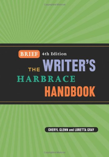 The Writer's Harbrace Handbook, Brief Edition