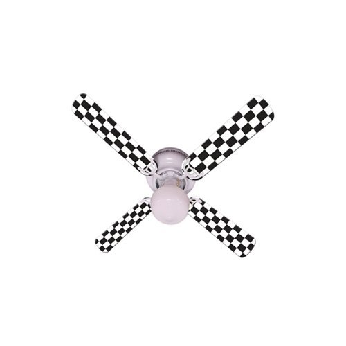 Ceiling Fan Designers Ceiling Fan, Checkered Flag, 42″