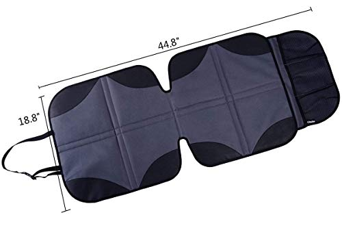 Ohuhu 2-Pack Baby Child Car Auto Carseat Seat Protector Cover Dog Mat Vehicle Cover With Organizer by Ohuhu (Image #3)