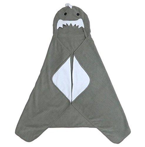 Shark-Hooded-Bath-Towel-Skyline-Gray