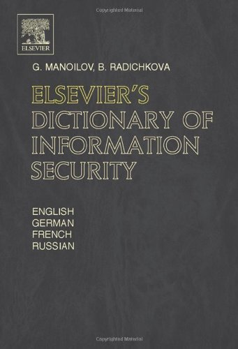 Elsevier's Dictionary of Information Security Pdf