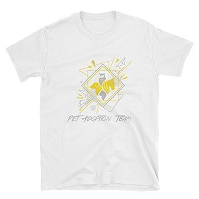 AZ-Stores Pets Team, Funny Matching Couples T-Shirts,Men Printing Tees Shirt Short Sleeve T Shirt Summer,Funny Tee