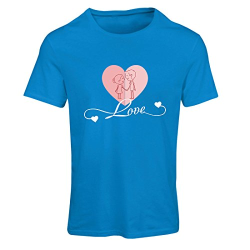 T Shirts for Women I Love You ! Precious Gifts of Love for Your Secret Valentine (X-Large Blue Multi Color) ()