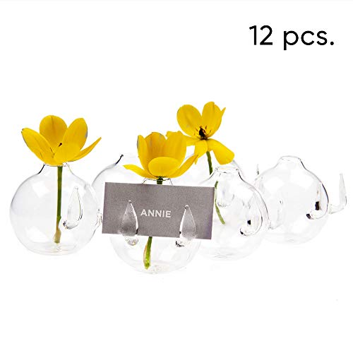 Contemporary Place Card Holders - Chive - Set of 12 Small 2