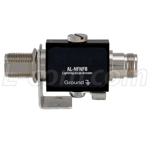 F Coaxial Protector Surge Connector (L-com AL 0-3 GHz Coax Surge Protector (N f/N f))