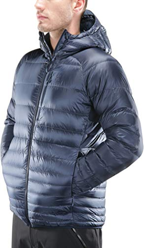 Down Jacket HA604095 mens Ink Blue Blue Tarn Men's Essens Hood Down Haglöfs ASnT1wqS