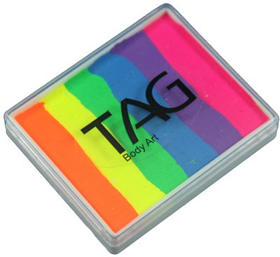 TAG Split Cakes - Neon Rainbow (50 gm) ()