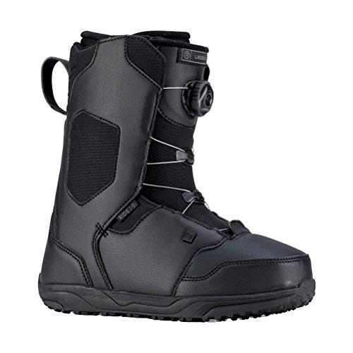 Ride Kids Snowboard Boots - Ride Kids' Lasso Jr Snowboard Boots - Black - 4