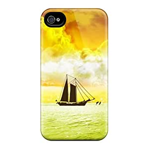 Iphone High Quality Tpu Case/ Ship UYNGtCS4515OVYpG Case Cover For Iphone 4/4s