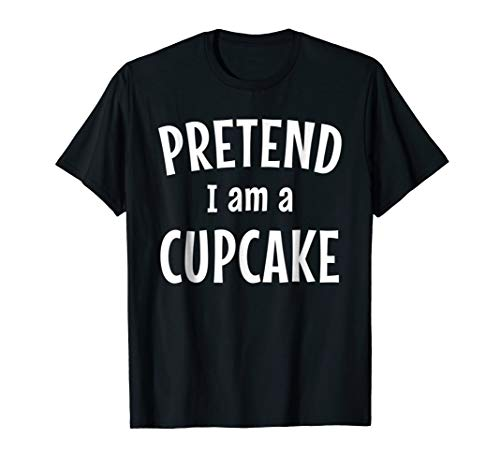 Funny Cupcake Costume Shirt Easy Idea for Halloween