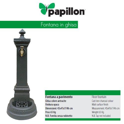 Fontane Da Giardino In Ghisa Usate.Fontana Arredo Giardino Per Esterno In Ghisa Cm 46x41x114 H
