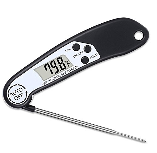 Digital Meat Thermometer Instant Read Cooking Thermometer for Kitchen Food BBQ Grilling