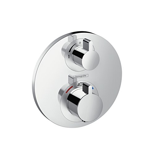 hansgrohe Thermostatic for concealed installation Ecostat S Fertigset 1 Verbraucher chrome