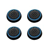 Cheap Insten [2 Pair / 4 Pcs] Wireless Controllers Silicone Analog Thumb Grip Stick Cover, Game Remote Joystick Cap for PS4 Dualshock 4/ PS3 Dualshock 3/ PS2 Dualshock/ Xbox One/ Xbox 360, Black/Blue