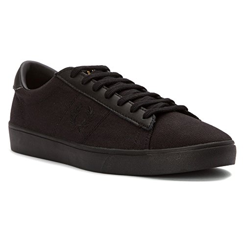 FRED PERRY Spencer toile Homme-42-Noir