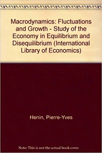 Macrodynamics: Fluctuations and Growth - Study of the Economy in Equilibrium and Disequilibrium (International Library of Economics)