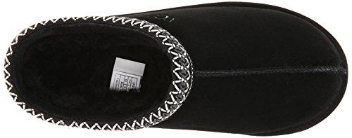 Pantofole Da Uomo In Pelle Scamosciata Nero Tasman Nero - 5 B (m) Us Black