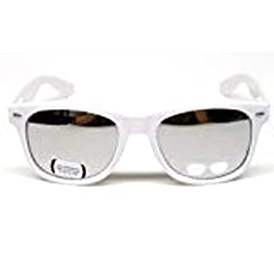 Amazon.com: clásico Retro Espejo anteojos de sol unisex W110 ...