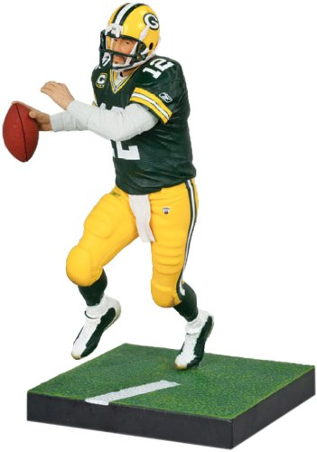 McFarlane Toys NFL Green Bay Packers 2011 Elite Series 2 Aaron Rodgers Action Figure