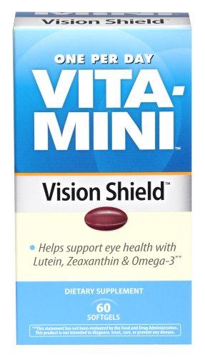 UPC 070030113957, Vita-Mini Vision Shield Softgels, 60 Count