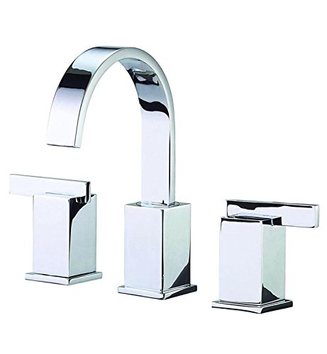 Danze D304144 Sirius Two Handle Widespread Lavatory Faucet, Chrome - Sirius Sink Faucet