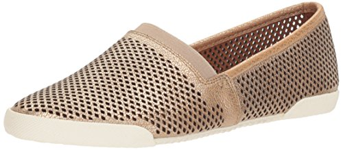 FRYE Women's Melanie Perf Slip Fashion Sneaker Gold