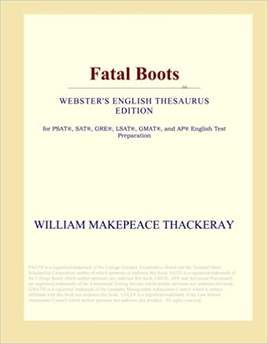 Book Fatal Boots (Webster's English Thesaurus Edition)