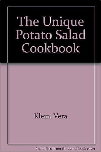 The Unique Potato Salad Cookbook