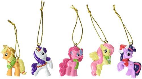 My Little Pony Kurt Adler 5 Piece Resin Ornament Set