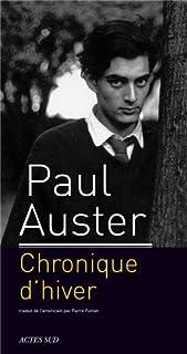 Chronique d'hiver, Auster, Paul