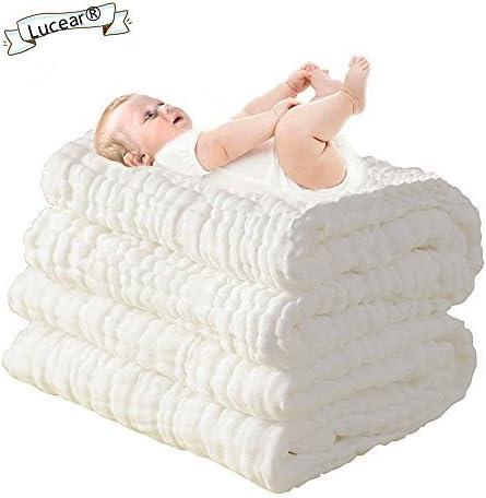 Lucear Toallas de baño para bebés recién nacidos, hechas de ...