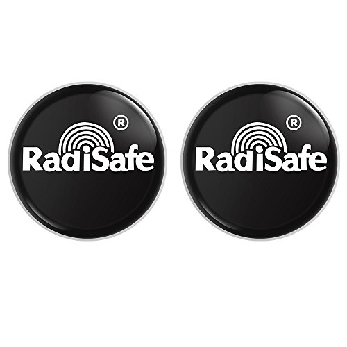 VersionTECH. Cell Phone Anti Radiation Protector Shield Sticker, EMR Protection Blocker, EMF Neutralizer Patch for Use On All EMF Devices: WiFi, iPhone, iPad, Kindle, Laptop(2-Pack)