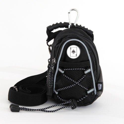 CMC Golf Ace of Spades Mini Daypack, Black