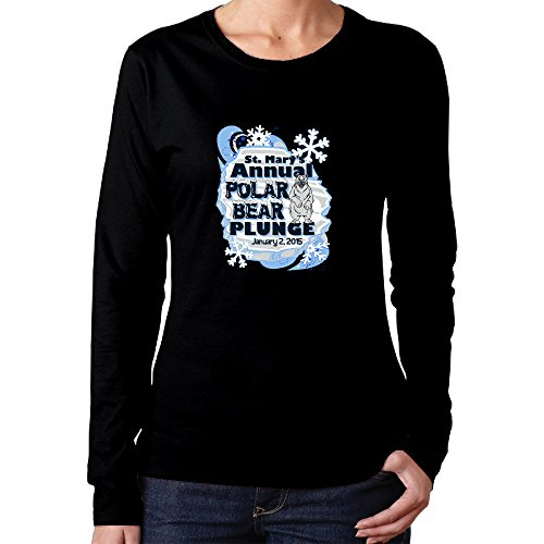 Unique Polar Bear Plunge Lady Round Collar T-shitr2016 - Pack Bear Cooler 48 Polar
