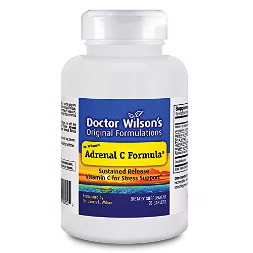 Dr. Wilson's Adrenal C Formula, 90 caps (Best Form Of Vitamin C For Adrenal Fatigue)
