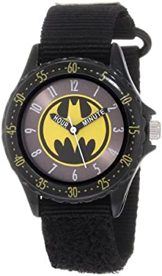 "Batman Boys' BAT5038 Black ""Time Teacher"" Batman Watch"