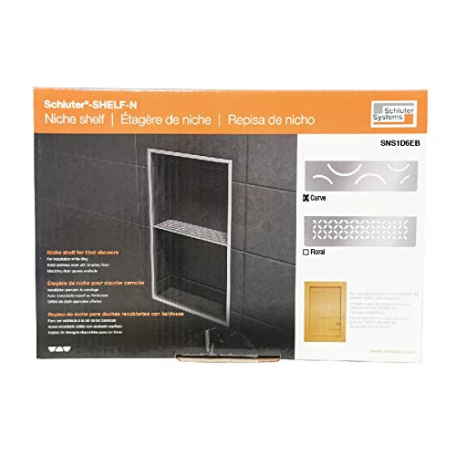 Schluter Kerdi Shower Niche Shelf with Curve Design by Schluter Systems (Image #1)