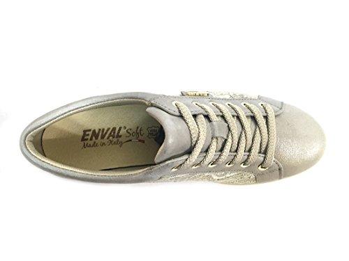 Pala Sneaker In Italy E Scarpa Made 12668 Bambu Enval Pizzo Donna Soft qTOvXF