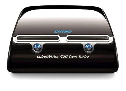 DYMO LabelWriter 450 Duo - Impresora de etiquetas (Térmica directa, 600 x 300 DPI, 71 Ipm, 56 mm, D1, Negro, Plata) Dymo-CoStar Corp S0838920